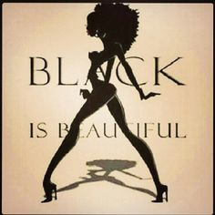 Black is beautiful.read this article to find out how some black people just don't believe this. Natural Hair Art, Pelo Natural, Au Natural, Natural Styles, Black Girls Rock, Black Girl Magic, Dreadlocks, Afro Art, Black Women Art