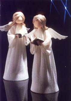 Выкройка куклы ангелочка