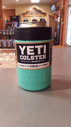 Yeti Colster - Custom Dipped Teal Koozie *Powder Coating Process is applied by Patriot Jacks Outfitters / not Yeti Coolers. *Any warranty issues will be warrantied by Patriot Jacks Outfitters Yeti Cooler, Cooler Box, Powder Coating Process, I Need Vitamin Sea, Yeti Cup, Lake Life, Teal, Aqua, Things I Want