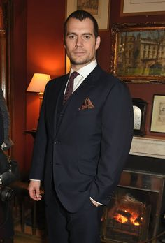 Pin for Later: From Brooklyn Beckham to Henry Cavill: Stars at the London Menswear Shows Henry Cavill At the Dunhill presentation.