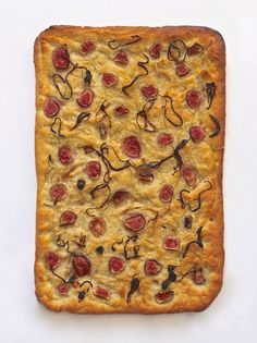 Focaccia with Figs & Caramelized Onions | Lorimer Street Kitchen
