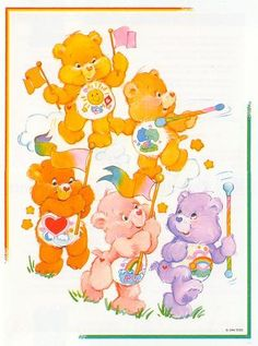 Environmental Care Bears