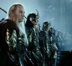 Elves at the Battle  of Helms Deep