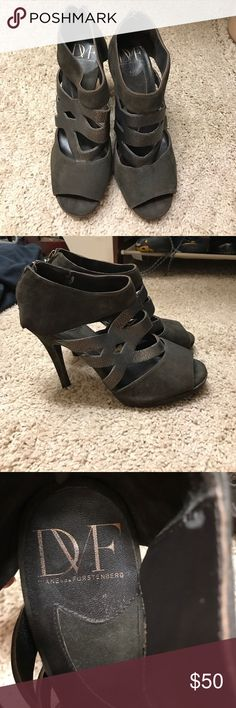 Diane Von Furstenberg heels DVF heels used Diane von Furstenberg Shoes Heels