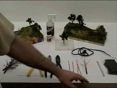 How to Make Miniature Trees for Dioramas and Model Railroads  article.wn.com