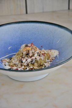 Quinoa Muesli with Coconut Milk Yogurt {Vegan, Dairy-Free, Gluten-Free, Egg-Free, Refined Sugar-Free}