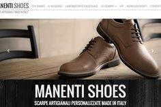 Scarpe artigianali personalizzabili su misura http://www.manentishoes.it/