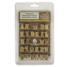 Amazon.com: Walnut Hollow Hotstamps Uppercase Alphabet Branding and Personalization Set for Wood and other Surfaces: Toys & Games