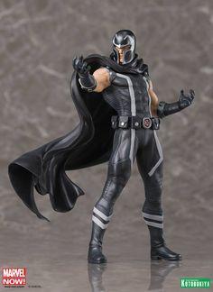 Universo Marvel 616: Ciclope e Magneto pela linha ArtFX da Kotobukyia