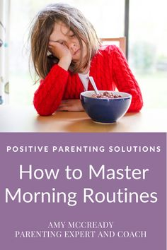 For a successful start to any family's day, a solid morning routine is what's needed. How to master your morning routine and tame morning mania. #positiveparentingsolutions #amymccready #amymccreadypps #motherhoodrising #momlife #gentleparenting #positiveparenting #pps #family #morningmania #parenting #motherhood #momlife #kids #parenthood #childrenroutines Morning Routine Kids, Positive Parenting Solutions, Gentle Parenting, Positivity, Optimism
