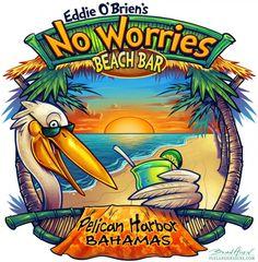 Tropical Beach Bar T-Shirt Design by Brian Allen, via Behance Beach Design, Vintage Tiki, Vintage Surf, Tiki Art, Hawaiian Art, Beach T Shirts, Shirt Print Design, Beach Bars, Surf Art
