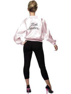 Blouson rose pink lady grease taille m - Accessoires de fête, Déguisements, Costumes,