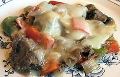 PHILLY CHEESESTEAK MELT - Linda's Low Carb Menus  Recipes