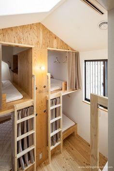 Mitsuwaya Hostel, Osaka, 2016 - SWING Architectural Space Design