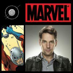 Paul Rudd has officially been cast as superhero Ant-man in the upcoming Marvel film. #deepcor #marvel #film #paulrudd #antman #entertainment #movie #superhero #comics #marvelstudios #news