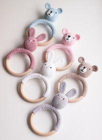 Life with Mari: Virkatut helistimet Crochet Unicorn, Crochet Earrings, Knitting, Life, Babyshower, Knits, Aurora, Tricot, Breien