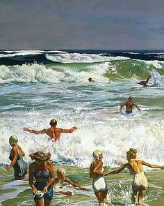 """Surf Swimming"": John Philip Falter"