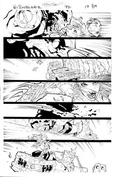 I MIEI SOGNI D'ANARCHIA - Calabria Anarchica: Witchblade Issue 72 Page 17  Artist: Francis Manap...