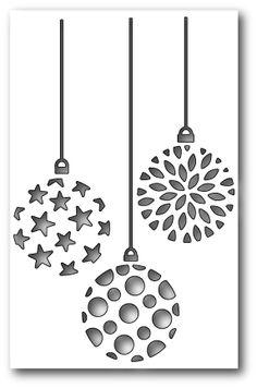 [1270] DIES- Ornament Trio Cutout