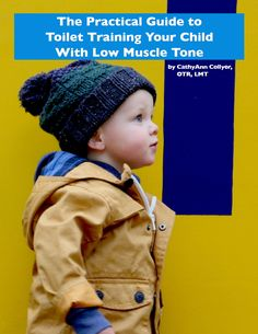 The Practical Guide to Toilet Training Your Child With Low Muscle Tone - 51 page digital document written by CathyAnn Collyer, OTR