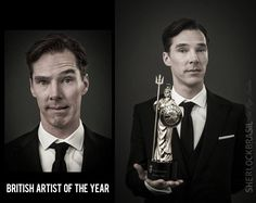 Britannia Award Portraits. Dat face. Definitely British.