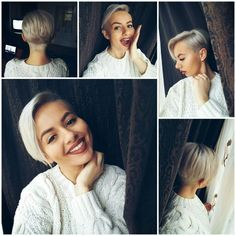 #love#pixie#grey#hair ❤