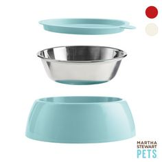 Pet bowl with lid