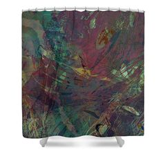 Add some drama to your bathroom decor with Wabi-sabi Ikebana Remix Illuminated Purple And Green Shower Curtain for Sale by Kristin Doner Green Shower Curtains, Curtains For Sale, Wabi Sabi, Ikebana, Table Linens, Outdoor Blanket, Drama, House Design, Throw Pillows