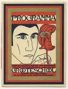 Programma Groote School; Wim Brusse 1928