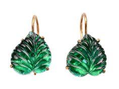 Green Leaf Earrings (available online) Art Deco Earrings, Glass Earrings, Art Deco Jewelry, Leaf Earrings, Glass Jewelry, Vintage Jewelry, Vintage Art, Diy Jewelry, Antique Earrings