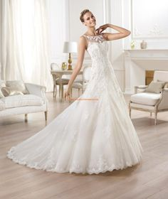 Tul vestido de novia Odariz Costura 2014 Pronovias