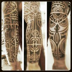 tatouage polynesien-polynesian tattoo: polynesian tattoo - tatouage tahiti
