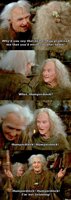 The Princess Bride...these two actually remind me of my grandparents haha