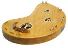 Chord Harp Zither, Therapy Harp, String Instrument, Heritage Music Folk Instrument, Included Padded Bag
