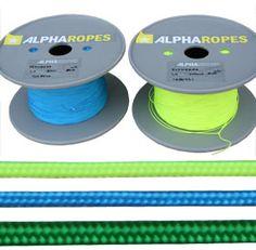 Flyneema is een dunne (1-1,4 mm) dubbelgevlochten lijn met dyneema kern. Speciaal voor kitesurfen.