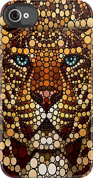 Made In USA! Great Case, Sharp Image And Fast Shipping. Polkadot Leopard Art - iphone 4 4s, iPhone 3Gs, iPod Touch 4g case, Available for T-Shirt man and woman