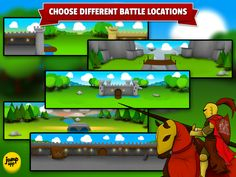 Create own epic battlefields using different scenes https://itunes.apple.com/us/app/sticker-play-knights-dragons/id836195612