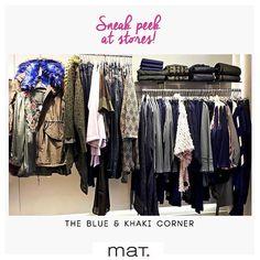 Το φετινό winter style προστάζει να συνδυάσουμε το μπλε με το χακί! Το κατάστημα #matfashion στον Κορυδαλλό, Αθηνάς 57, 'υπακούει΄τους κανόνες της μόδας και μας δίνει έμπνευση για τα blue & khaki outfits! Συνδυάστε τα και αναδείξτε ένα ανανεωμένο fashion look!