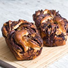 Chocolate & Walnut Babka