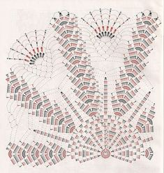 Diagram for Beautiful Doily