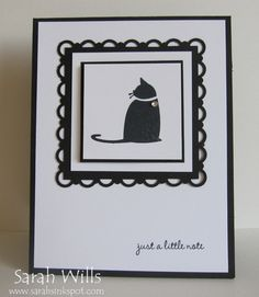 I love the sophisticated look and all the layers that make up this card.