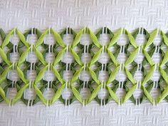 Vagonite com Fitas - Clube de Artesanato | Swedish Weaving ...