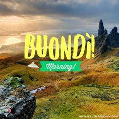 Buondì! Italy Culture, Italian Memes, Italian Language, Learning Italian, Vatican City, Montenegro, Slovenia, Croatia, Make It Simple