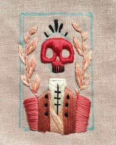 Memento mori - Embroidery Memento mori - Embroidery History of Knitting String spinning, weaving and sewing careers such as for instance BC. Embroidery Fashion, Embroidery Art, Cross Stitch Embroidery, Embroidery Patterns, Machine Embroidery, Simple Embroidery, Geometric Embroidery, Cross Stitching, Textile Art