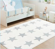 """Create a safe and comfortable play area for your child with the Parklon  """"Modern Star/Cloud Bebe"""" Soft Mat.Suitable for ages 0 months and up,  Parklon Soft Mats are perfect for tummy time, crawling and learning to  walk. The mat's thick cushioning absorbs impact, protecting your baby or  toddler from falls that may commonly occur.      * Nontoxic, non-phthalate and BPA-free.     * Provides a safe and independent play space for your child.     * Water-resistant and easy to clean. Simply…"""