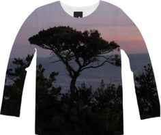 Coastal Sunset Long Sleeve Tee from Print All Over Me
