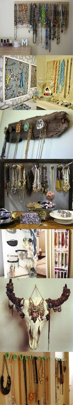 Como organizar colares