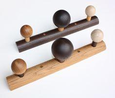 EnKnag™ i røget og olieret eg med magneter til fx nøgler