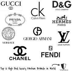 Las 12 mejores marcas de moda en el mundo @alvarodabril