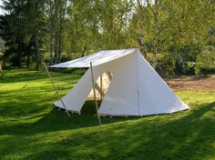 Double Belled Wedge Tent & Enormous Medieval Double Belled Wedge Tent | Pennsic Glamping ...